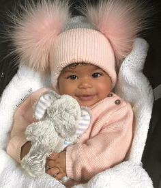 for more popping pins add - BABES - Bebe So Cute Baby, Cute Mixed Babies, Cute Black Babies, Black Baby Girls, Beautiful Black Babies, Brown Babies, Baby Kind, Pretty Baby, Beautiful Children
