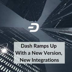 Dash Ramps Up With a New Version, New Integrations Three exciting news stories just came out that add to Dash's technology, economics, and accessibility. #dash #dashnation #bluehearts💙 #bitcoin #blockchain #crypto #defi Otc Trading, Secure Digital, Reward System, New Community, Recent News, Exciting News, News Stories, Economics, Blockchain