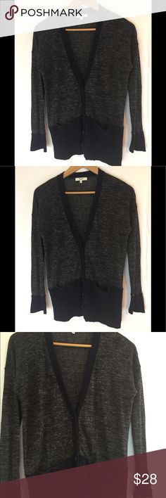 Madewell Wool Card Wool cardigan in good condition with large slit pockets super warm and loungy Madewell Sweaters Cardigans