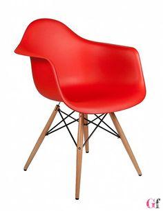 Cadeira Dimero Vermelha