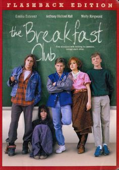 Favorite movie of all time The Breakfast Club