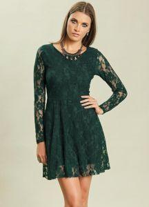 vestido-de-manga-longa-de-renda-verde-5.jpg (216×300)