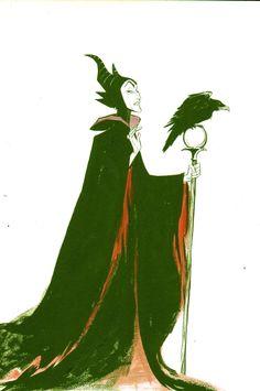 Maleficent from SLEEPING BEAUTY - Joelle Jones