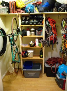 Some girls dream of a closet full of clothes and shoes.....this is my dream closet