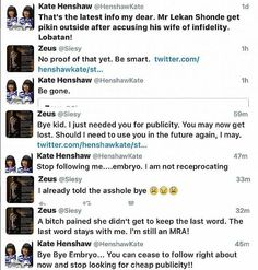 GOSSIP, GISTS, EVERYTHING UNLIMITED: Kate Henshaw and Follower Get into Ugly Twitter Fi...