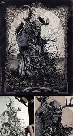 The Messenger by Lovell-Art.deviantart.com on @deviantART