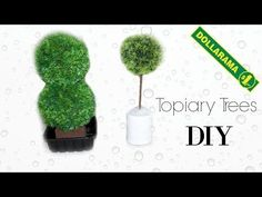 DIY: Modern Topiary plant | Faux Tree | DOLLAR store | Pinterest diy - YouTube