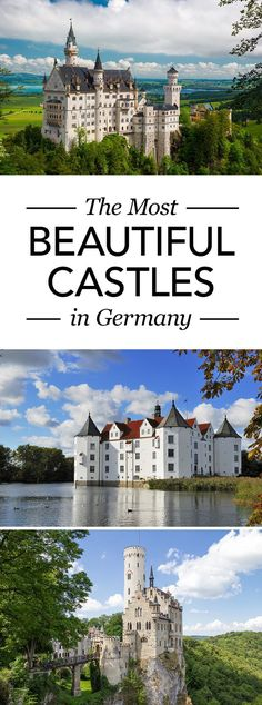 There are over 20,000 castles in Germany. To help you decide which ones to visit we have handpicked the best castles in Germany for you. #Germany #BeautifulCastles