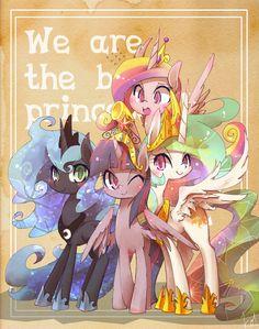 My little pony princess My Little Pony Fotos, Dessin My Little Pony, My Little Pony Poster, My Little Pony Cartoon, My Little Pony Pictures, Princesa Celestia, Celestia And Luna, Princess Cadence, My Little Pony Princess