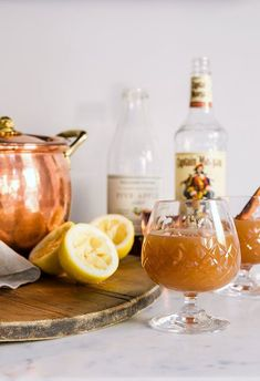 Hot Buttered Rum Cider cocktail!