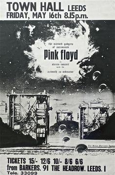 5/16/1969 .....  Hipgnosis Designed UK Concert Poster