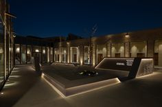 "Al Shindagha Museum, Perfume House, Dubai. ""Right Light, Right Place, Right Time"" ™ Museum Lighting, Facade Lighting, Tree Lighting, Lighting Concepts, Lighting Design, Lighting Control System, Gallery Lighting, Light Architecture, Facades"