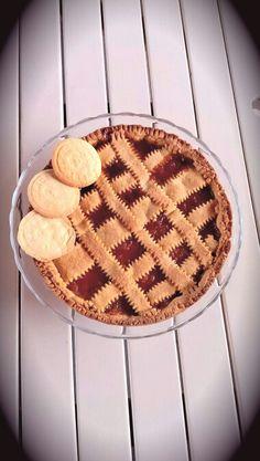 Crostata alla marmellata metà albicocche metà pesche - apricot&peach jam tart