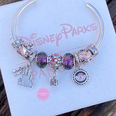 Disney Pandora Bracelet, Pandora Bracelets, Pandora Jewelry, Cartier Bracelet, Beaded Bracelets, Disney Couture Jewelry, Disney Jewelry, Cute Jewelry, Charm Jewelry