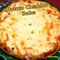 Recipe Submitted By:  Love Foodies Click on the link below for the Potato Cheddar Bake Recipe!   Potato Cheddar Bake