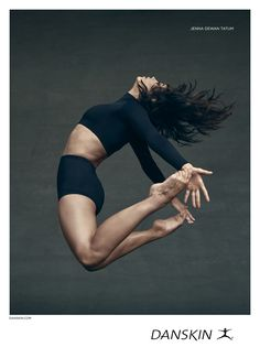 """Jenna Dewan Tatum Takes Us Behind the Scenes of Her New Danskin Campaign: """"Dance Is Everything to Me"""" - Jenna Dewan Tatum for Danskin from InStyle.com"""