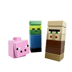 LEGO Minecraft The Village 21105 - characters
