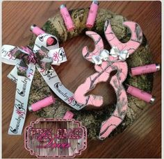 Cute idea to make for a baby girls arrival or for a country girl themed birthday party.