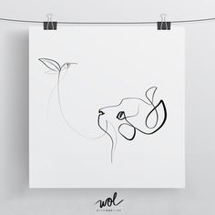 Black and White Cat Art with a Line - Hummingbird Print Calligraphy - Single Line Drawing Face Chat, Animal Drawings, Cool Drawings, Single Line Drawing, Cat Sketch, Bird Sketch, Calligraphy Print, Cat Art Print, Kunst Poster