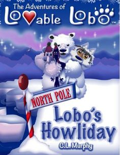 Lobos Howliday Is A Visually Beautiful Picture Book The Illustrations Explode With Color And Seem
