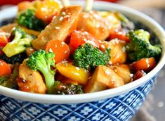 Recipe: Fried chicken with vegetables – Chicken Recipes Sesame Chicken, Teriyaki Chicken, Fried Chicken, Asian Chicken Recipes, Asian Recipes, Ethnic Recipes, Easy Chicken Stir Fry, Stir Fry Recipes, Vegetable Recipes