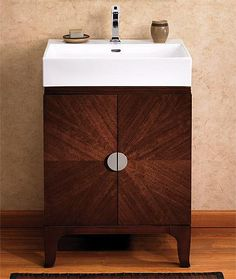 "VS24 Fairmont Half Moon Bay 24"" Vanity - Brown Cabernet"