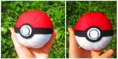 How to make a pokeball plushie. How To: Felt Pokéball - Step 10