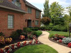 Paramount Lawn & Landscape designed this amazing landscape design.