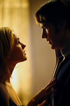 Sookie Stackhouse and Bill Compton Hbo Tv Shows, Hbo Tv Series, Sci Fi Shows, Best Tv Couples, Movie Couples, Cute Couples, Bill True Blood, True Blood Series, Anna Paquin Stephen Moyer
