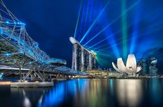 This from Elia Locardi. A fantastic shot of Marina Bay Sands!