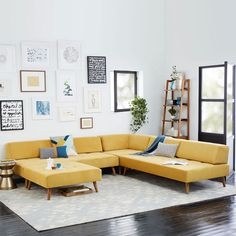 Retro Tillary® 8 Piece Sectional
