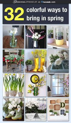 32 Colorful Ways to Bring in Spring