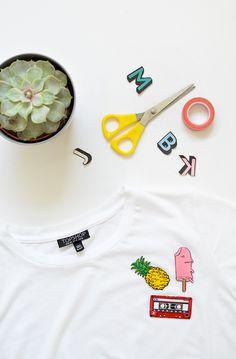 DIY | customised t-shirts @burkatron