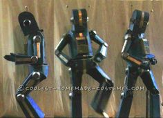 Awesome Articulated (Carboard!) Robot Costume with Tape Player ...This website is the Pinterest of costumes