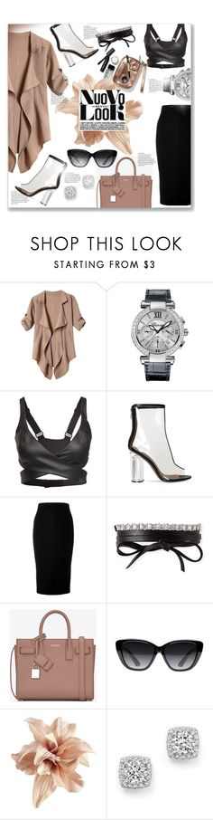 """""""Trendy"""" by editaeduardovna ❤ liked on Polyvore featuring Chopard, Reebok, Victoria Beckham, Fallon, Yves Saint Laurent, Elizabeth and James, H&M, Bloomingdale's and Bobbi Brown Cosmetics"""