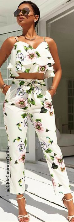 Gorgeous Cayson Two Piece set by Chic Couture Online