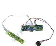 V.M70A VGA LVDS LCD Controller Board Kit For B101AW07 B101AW06  B101AW03  B101AW02 10.1 inch 1024X600 WLED LVDS Video Board