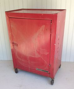 Hey, I found this really awesome Etsy listing at https://www.etsy.com/listing/278550322/rustic-metal-rolling-shop-cabinet-on