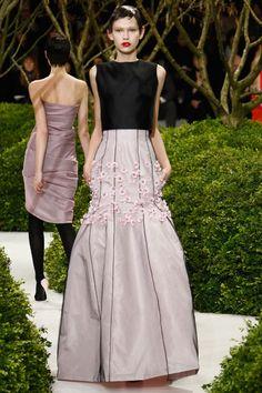 Desfile de Christian Dior Alta Costura Primavera-Verano 2013