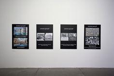 """Bernard Tschumi. Advertisements for Architecture, 2012. 13th International Architecture Exhibition of """"la Biennale di Venezia"""" – Common Ground."""