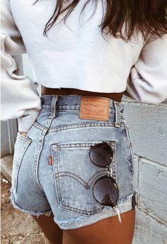 Aggressiv Frauen Weiß Schwarz Hohe Taille Shorts Sommer Casual Shorts Shorts Hosen