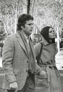 "Ryan O'Neal & Ali MacGraw in ""Love Story,"" 1970"