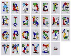 Pinzellades al món Edward Gorey, Alphabet, Eric Carle, Elsa Bornemann, Exclamation Mark, Poster Colour, Life Thoughts, Monogram Fonts, Drawing Techniques