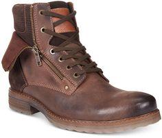 Alfani Men's Isaac Double Zip Boots, Only at Macy's