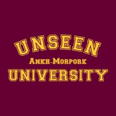 Unseen University ~ Discworld.com Terry Pratchett Discworld, Wit And Wisdom, Books To Read, Reading Books, Book Worms, Philosophy, Nerdy, Cool Pictures, Fangirl