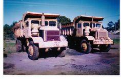 Euclid B7FD dump trucks, Windsor NSW Australia