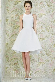 Brides.com: Angel Sanchez - Spring 2015. Wedding dress by Angel Sanchez