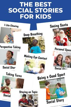 Wow! This is a HUGE collection of social stories for kids! They're perfect for helping preschoolers, kids with autism, and grade schoolers with behavior, special events, social skills, and more. Includes lots of free social story printables too! #socialstory #socialstories #autism #socialskills Social Skills For Kids, Social Skills Activities, Toddler Activities, Social Stories Autism, Autism Resources, Personal Space Social Story, Early Elementary Resources, Perspective Taking, Preschool Special Education