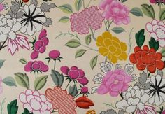 Love you long time! The ever-gorgeous Misia fabric by Manuel Canovas via Effortless Style Blog.