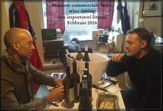 """Italian fine wines selected by """"Flavio Busti Distinction """" showcased to the Lithuanian wine importers ! Trade Mission"""